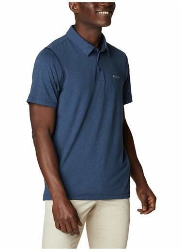 Columbia Columbia Erkek Lacivert Polo Yaka T-Shirt Lacivert